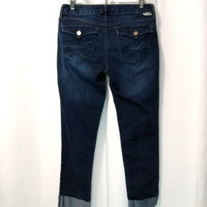 17/21 cropped jeans